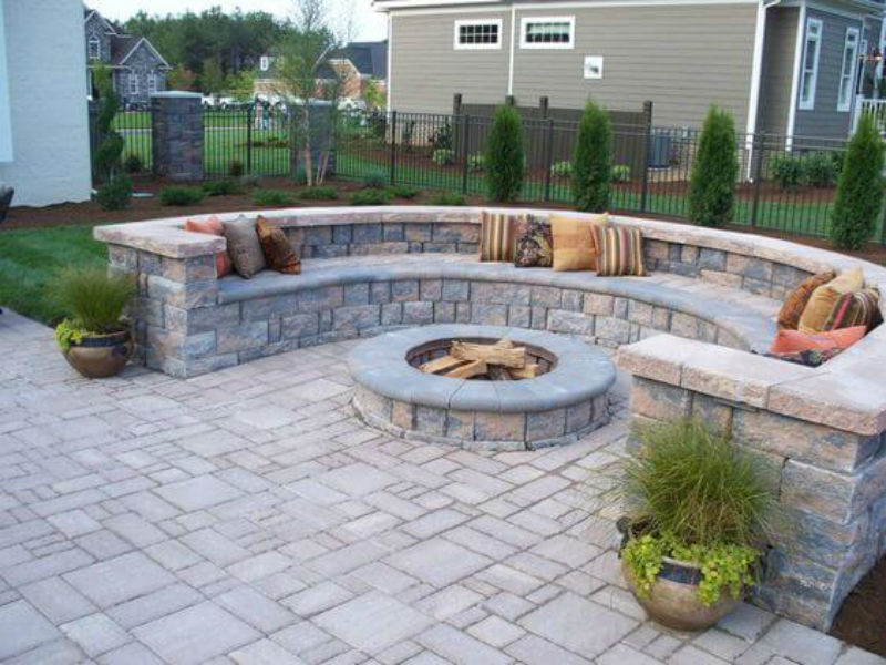 05-Landscape contractor near me Retaining Walls Water features Affordable landscaping - Medford oregon 97504