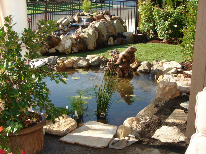 06-Landscape contractor near me Retaining Walls Water features Affordable landscaping - Medford oregon 97504